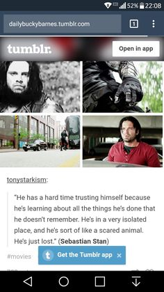 dailybuckybarnes.tumblr.com - for all your weeping needs