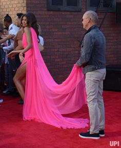 """Cast members Zendaya and Michael Keaton attend the premiere of the sci-fi motion picture """"Spider-Man: Homecoming"""" at TCL Chinese Theatre in…"""
