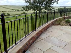 Wrought Iron Railings » Ironcraft Leicestershire