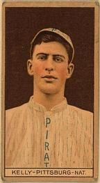 1912 Brown Backgrounds T207 #89 Billy Kelly Front