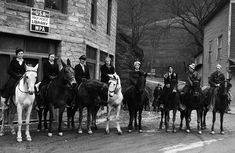Female Librarians on Horseback Delivering Books, ca. 1930s   History Daily