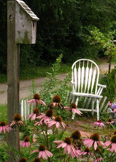 chair in the garden#Repin By:Pinterest++ for iPad#