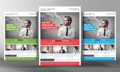 Multi Purpose Business Flyer Templat by Business Templates on @creativemarket