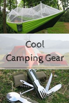 The s'mores, the campfire songs, the stargazing. Who's excited that spring is here and camping trips are on the horizon? Make the trip more fun with some new camping gear. If you're looking for that truly authentic, rustic camping experience, a cooking tr Camping Hacks, Best Camping Gear, Camping Supplies, Camping And Hiking, Camping Life, Camping Survival, Hiking Gear, Family Camping, Camping Ideas