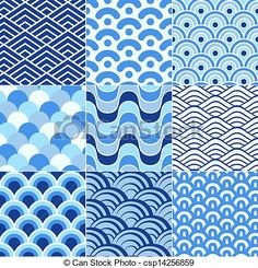 vector wave pattern - Google Search