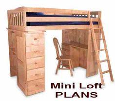 Child's Mini-Loft Simple - PLANS
