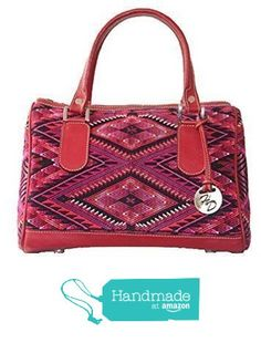 Handmade leather bag with Huipil from Huipil Design http://smile.amazon.com/dp/B01EGY72GU/ref=hnd_sw_r_pi_dp_6cknxb1KY8PV9 #handmadeatamazon