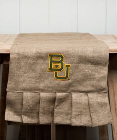 Take a look at this Baylor Bears Personalized Table Runner on zulily today!