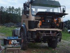 August-September Mercedes Truck, Tractors, September, Trucks, 4x4 Camper Van, Truck