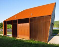 de leon & primmer: riverview park visitor service building I