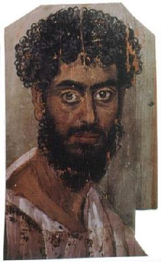 Mummy Portrait of a Man 2nd century ad