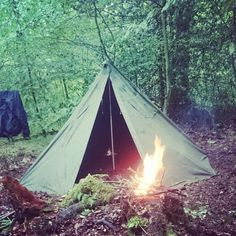 Laavu camp. Photo from jonesy_bushcraft