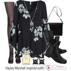Hayley Marshall inspired outfit/TO