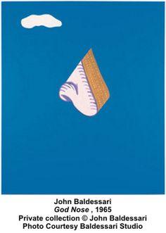 Baldessari, John Baldessar, God Nose