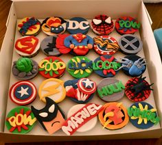 Pin+Marvel+Super+Heroes+Cake+Decadent+Creations+By+Aisha+On+