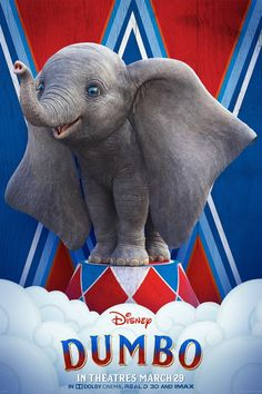 Dumbo is in theaters March 29 🙌 . Do you remember watching Dumbo as a child? I do, and I loved it. Definitely one of my favorite movies as a little 🥰 . Watch Tim Burton's idea of the movie with effects on opening weekend with your kids! Disney Films, Disney Pixar, Dumbo Disney, Disney Fan, Disney Live, Live Action Disney, Dumbo Live Action, Michael Keaton, Colin Farrell