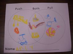 Wood's Kindergarten Class: Force and Motion Mrs. Wood's Kindergarten Class: Force and Motion Mrs. Wood's Kindergarten Class: Force and Motion Mrs. Wood's Kindergarten Class: Force and Motion Elementary Science Classroom, Preschool Science, Teaching Science, Science Education, Science For Kids, Science Activities, Classroom Activities, Primary Education, Science Ideas