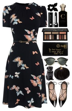 """""""Autumn mood"""" by tubamirum ❤ liked on Polyvore featuring Kate Spade, Yves Saint Laurent, Ray-Ban, Kat Von D, Clive Christian, Marc Jacobs, Quail and Allstate Floral"""