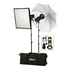 Opus Deluxe 500 Flash Kit - H50088  #Help4theHolidays @LondonDrugs Photography Equipment, Drugs, Bucket, Fancy, Kit, Holidays, London, Travel, Ideas