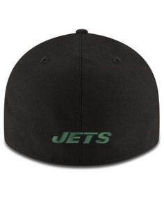 New Era New York Jets Team Basic Low Profile 59FIFTY Fitted Cap - Black 7 5/8