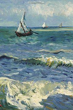 BLANK / UNRULED NOTEBOOK Seascape near Les Saintes Maries de la Mer. Blank Journal: Vincent van Gogh notebook / composition book , 140 pages, 6 x 9 inch (15.24 x 22.86 cm) Laminated by Studio Beeker http://www.amazon.com/dp/1519179316/ref=cm_sw_r_pi_dp_9fBFwb0NFTPB4