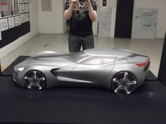 Corvette Clay Model by jp9109 on deviantART
