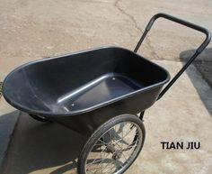 Double Big Wheel Wheelbarrow Wb8804