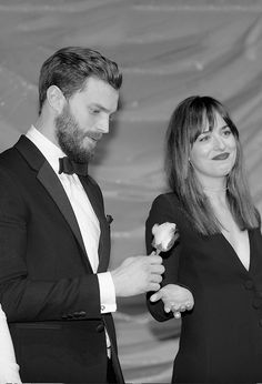 """The most important thing was the sense of trust. The trust of Dakota Johnson in Jamie Dornan that he would take care of her, and the trust of Jamie in Dakota that she would take care of him. [Sam..."