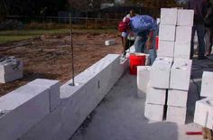 Cellular concrete is a lightweight building material that is both strong and has excellent thermal efficiency. A very cost effective, sustainable and green building material.  Not yet well known in North America it has been used throughout the world for almost 100 years.
