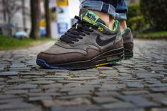 chrisflanell.: [onmyfeet] Nike Air Max 1 'black history month'