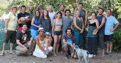 They came together as friends at Burning Man, but graduated into a nine acre, five family community.