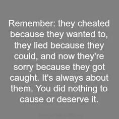 Very true. They did it cause they wanted to. No one deserves to be betrayed ever....gotta remember this :(