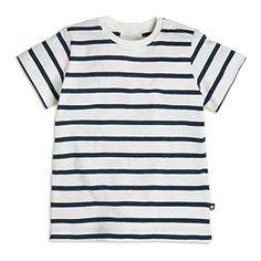 Pruhované tričko  Modrá