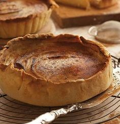 Rustic Milk Tart recipe - from Woolworths Sweet Pie, Sweet Tarts, Tart Recipes, Cooking Recipes, Custard Recipes, Milk Tart, South African Recipes, How Sweet Eats, Something Sweet