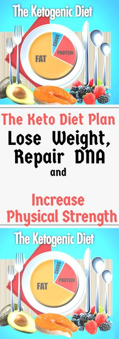The Keto Diet Plan – Lose Weight, Repair DNA and Increase Physical Strength!!! Read this carefully!!
