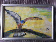 miniature painting 10 x 15 cm. soft pastels