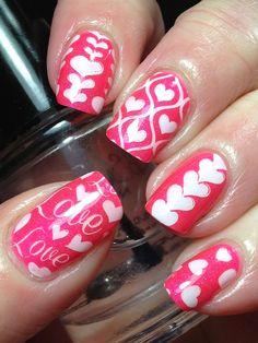 Love/Valentinesday nails