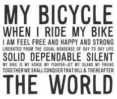 http://lastlemon.com/manifesto/ma034/ Ode to BICYCLE