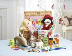 Why not keep them entertained until the New Year with this ingenious kids craft hamper? #HamperMaking