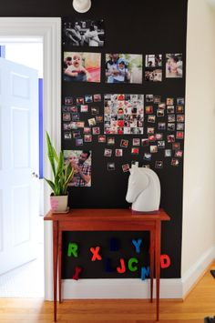 Alexandra & Mike's Bright and Colorful Family Nest