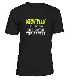 Top Shirt NEWTON Legend T Shirt front  #tshirts #tshirtdesign #tshirtteespring #tshirtprinting #tshirtfashion