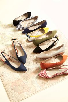 We've brought our favourite flats up to date with a classic pointed toe. Which colour suede will you choose?