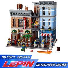 Lepin 15011 Creator Series The Detective's Office Set Avengers Set Assemble Building Blocks Toys 10197 #Affiliate
