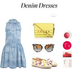 Stylish Denim Dresses Denim Dresses, Stylish, Fashion, Jean Dresses, Moda, Fashion Styles, Fashion Illustrations