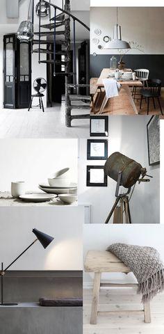 Multifunctional wall desk in black   Norm Architects for MENU   Vosgesparis   Bloglovin