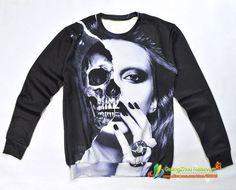 2017 New Men/men Marilyn Monroe Skull Funny Pullovers 3d Hoodies Sweatshirt Cartoon Princess Alice Frida Sweatshirts Wholesale