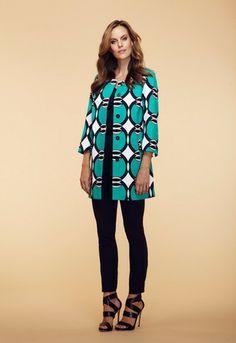 Tribal Jade Green Geo Print Jacket - Ravishing & Rugged