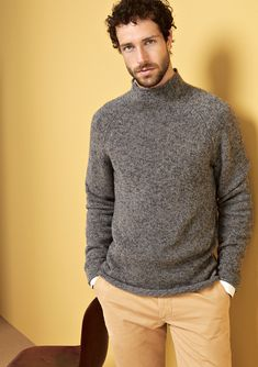 efficiency, and productivity are important. So are and Specializing in in the segment Cashmere stands for and articles as well as for a strong sense of with respect to correct conditions. Gray Sweater, Men Sweater, Fashion Guide, Mens Fashion, Sustainable Fashion, Style Guides, Productivity, Knits, Respect