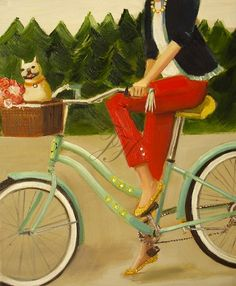 Me-some day-when I hit goal I think I will deserve a vintage look bike!