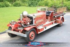 1933 Ahrens-Fox CT4 Fire Truck